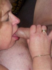 Mature couple just fucking anywhere they can