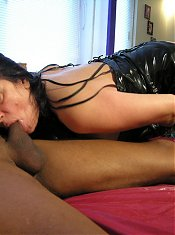 See this mature nympho dig a black cock