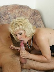 she loves to eat his cum